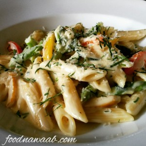 Penne in White Sauce